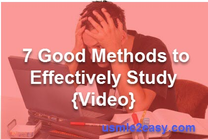 7 Good Methods to Effectively Study {Video}