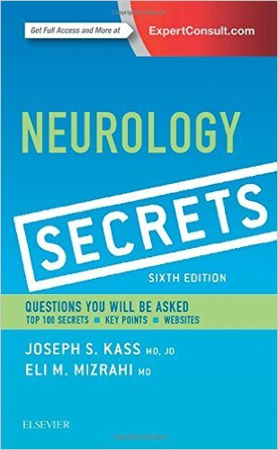Download Neurology Secrets 6th Edition PDF Book Cover