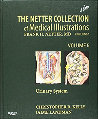 Netter Collection of Medical Illustrations Volume 5 The Urinary System 2nd Edition Book Cover