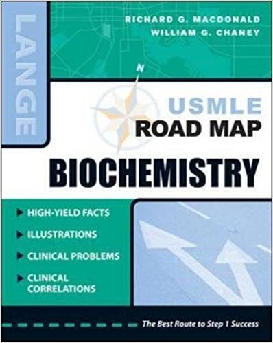 USMLE Road Map Biochemistry 1st Edition Book Cover