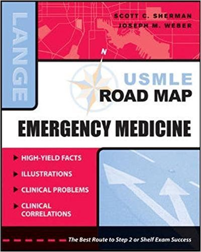 USMLE Road Map Emergency Medicine 1st Edition Book Cover