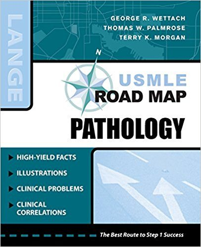 Download USMLE Road Map Pathology 1st Edition PDF Book Cover