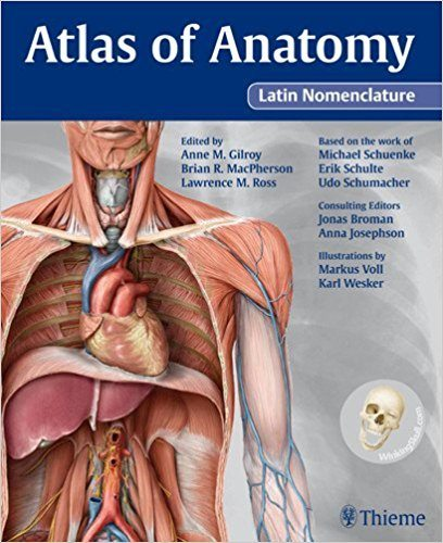 Atlas of Anatomy Latin Nomenclature PDF Book Cover