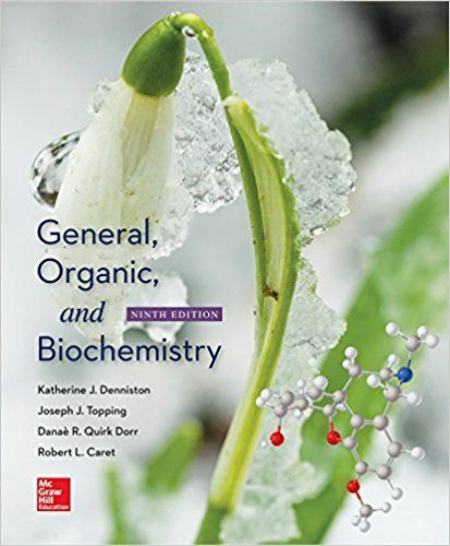 General, Organic, and Biochemistry 9th Edition PDF Book Cover