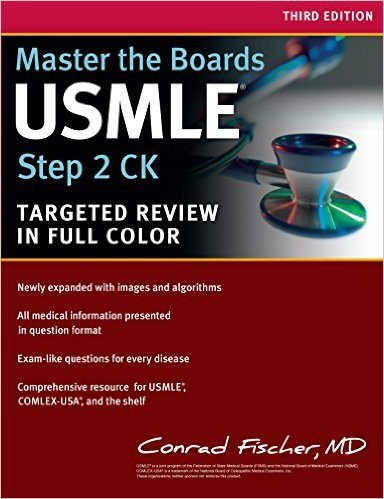 Master the Boards USMLE Step 2 CK, Third Edition Book Cover