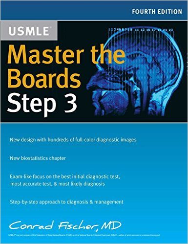 Master the Boards USMLE Step 3 4th Edition 2017 Book Cover