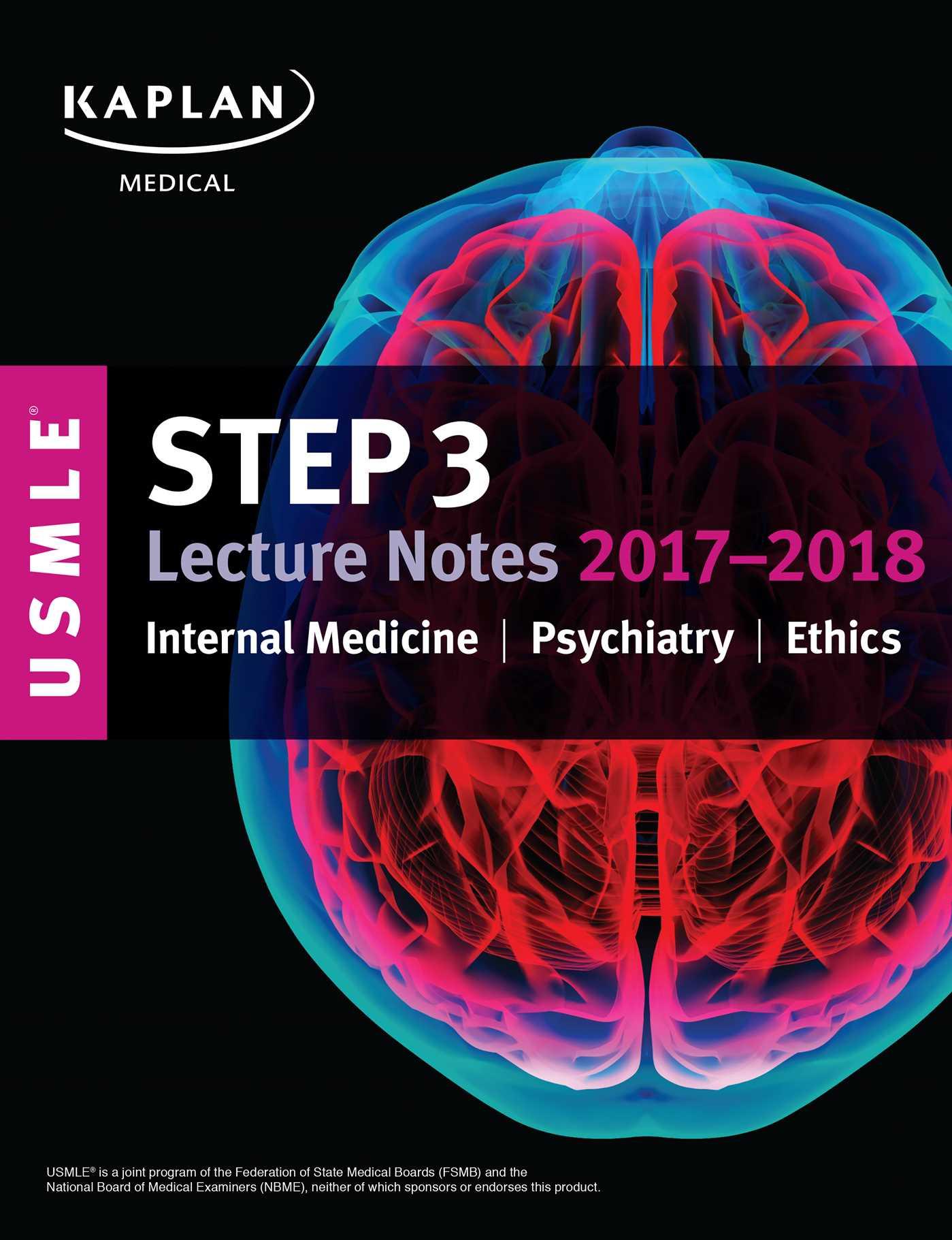 kaplan USMLE Step 3 lecture Notes 2017-2018