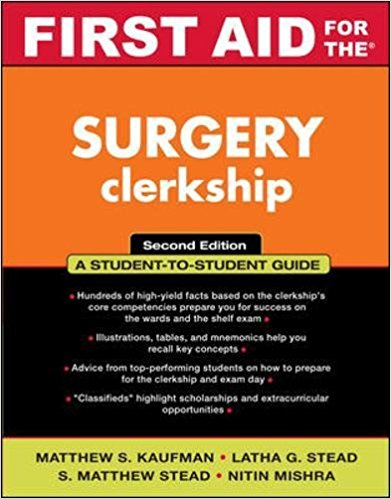 First Aid for the Surgery Clerkship 2nd ed
