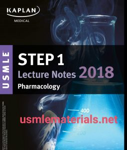USMLE Step 1 Lecture Notes 2018 Pharmacology