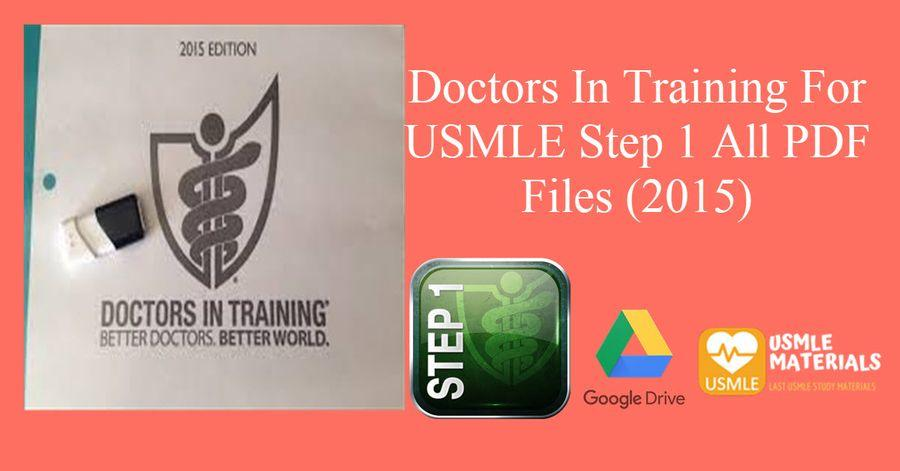 Doctors In Training pdfs