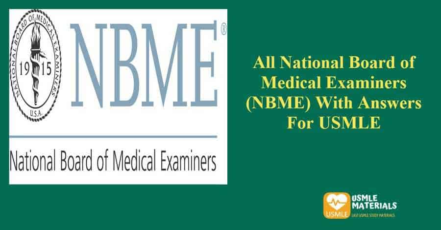 NBME with answers