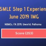 {Score 253} USMLE Step 1 Experience IMG – 28 June 2019