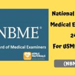 National Board of Medical Examiners 24 (NBME 24) For USMLE Step 1 [PDF]