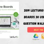 2019 Lecturio Beat the Boards 30 USMLE Step 1 Question Walkthroughs