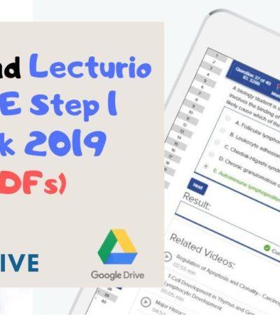 Download Lecturio USMLE Step 1 Qbank 2019 [PDFs]