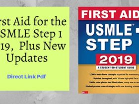First Aid for the USMLE Step 1 2019,  Plus New Updates pdf