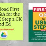 Download First Aid Q&A for the USMLE Step 2 CK 2nd Ed
