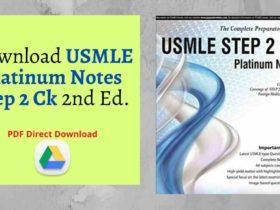 Download USMLE Platinum Notes Step 2 Ck 2nd Ed. pdf