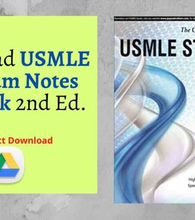 Download USMLE Platinum Notes Step 2 Ck 2nd Ed. pdf
