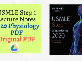 Download USMLE Step 1 Lecture Notes 2020 Physiology PDF Direct Link