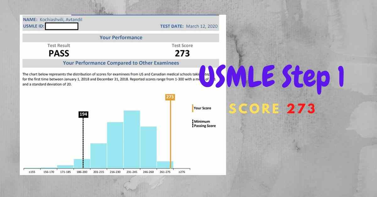 USMLE Step 1 Experiences (2020)- Highest score 273