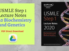 USMLE Step 1 Lecture Notes 2020_ Biochemistry and Genetics PDF Direct Link