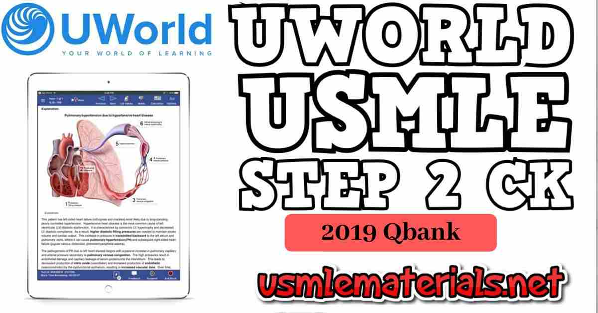 Uworld Step 2 CK Qbank Direct Download 2019