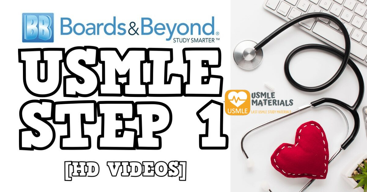 Boards and Beyond USMLE STEP 1 2019 Direct Download