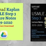 Download Kaplan USMLE Step 3 Lecture Notes 2019-2020 PDF