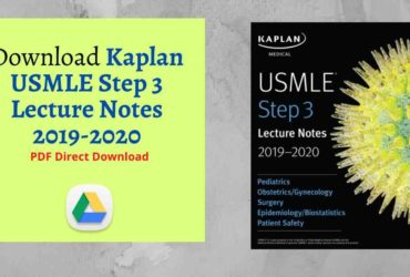 Download Kaplan USMLE Step 3 Lecture Notes 2019-2020 PDF