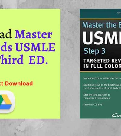 Download Master the Boards USMLE Step 3 Third ED. pdf