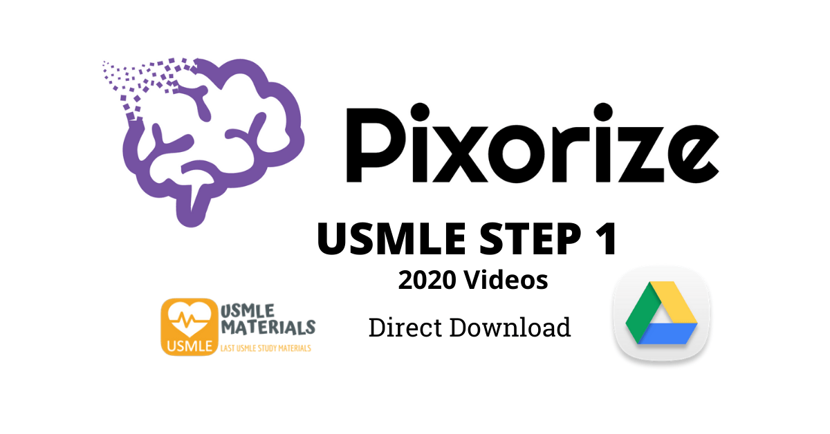 PIXORIZE USMLE STEP 1 2020 DIRECT DOWNLOAD