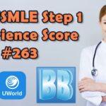 IMG USMLE Step 1 Experience Score 263