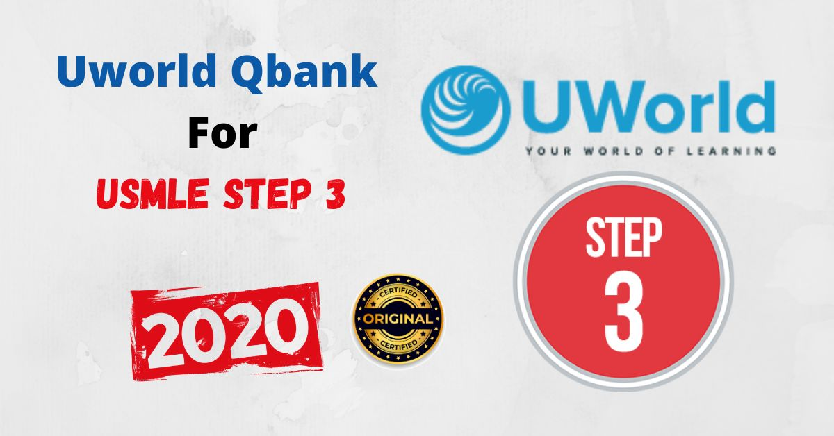 Uworld Qbank 2020 For USMLE Step 3