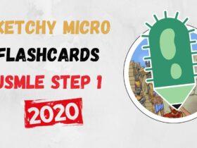 Sketchy Micro Flashcards USMLE Step 1