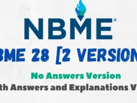 NBME 28 for USMLE Step 1 With Answers and Explanations PDF