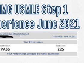 IMG USMLE Step 1 Experience June 2021 For Student with COVID 19