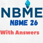 NBME 26 for USMLE Step 1 With Answers PDF