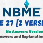 NBME 27 for USMLE Step 1 With Answers and Explanations PDF